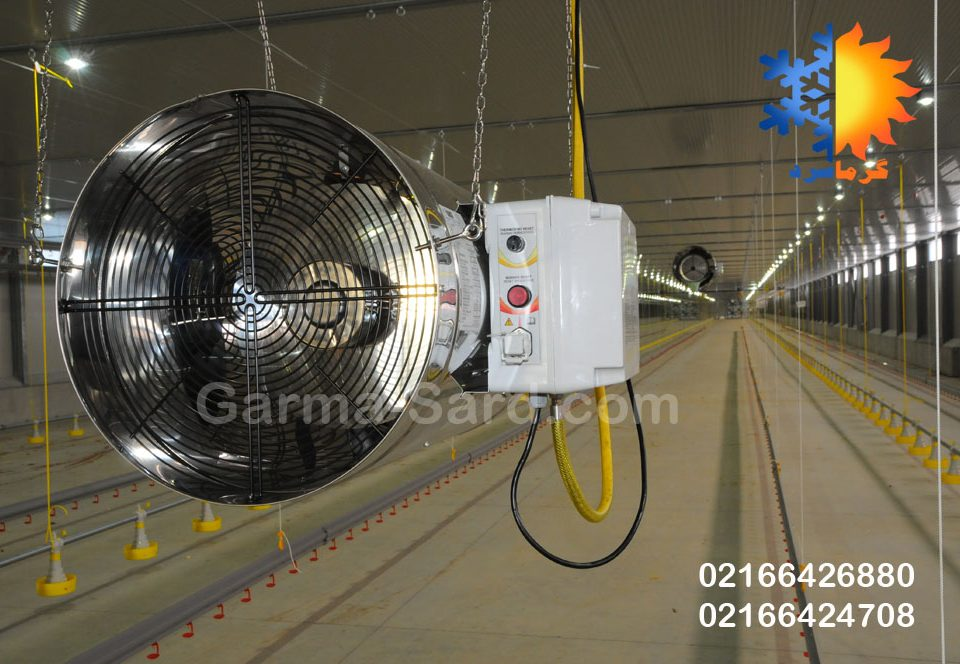 جت هیتر مرغداری گازی گرماسرد جت هیتر گازی قیمت جت هیتر مرغداری هیتر جت مرغداری jet heater indirect fired air
