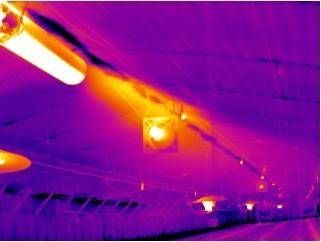 کوره هوای گرم گازی