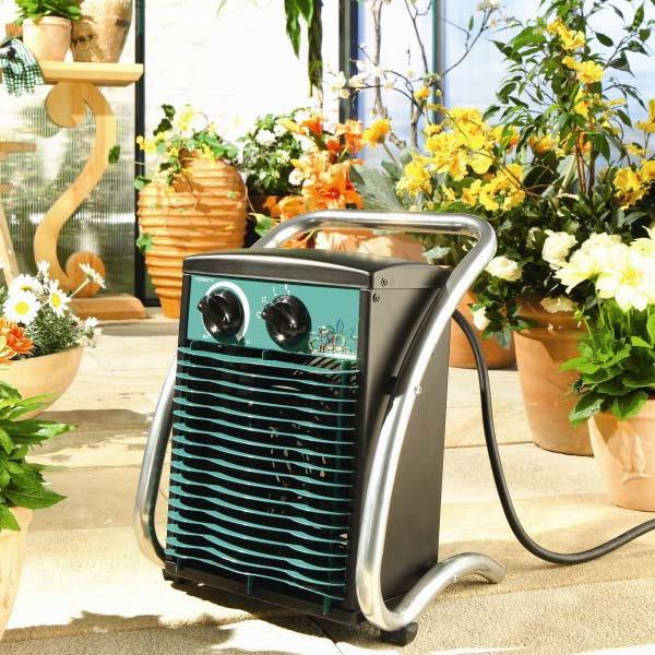 بخاری برقی گلخانه