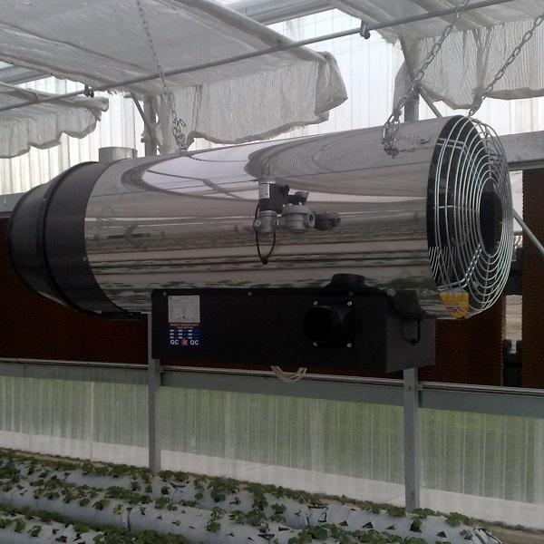 به کارگیری جت هیتر گازی