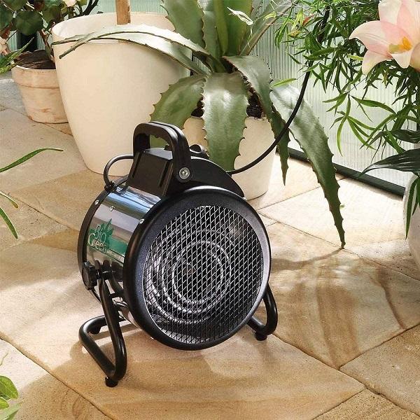 فن هیتر برقی گلخانه