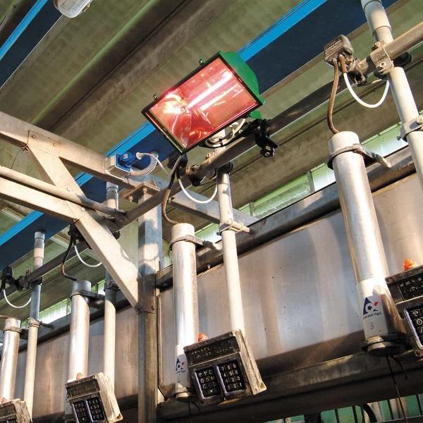 بخاری تابشی برقی صنعتی