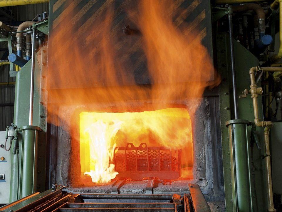 کوره هوای داغ صنعتی