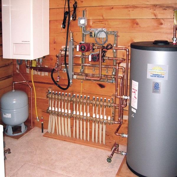 سیستم گرمایشی تابشی هیدرولیک