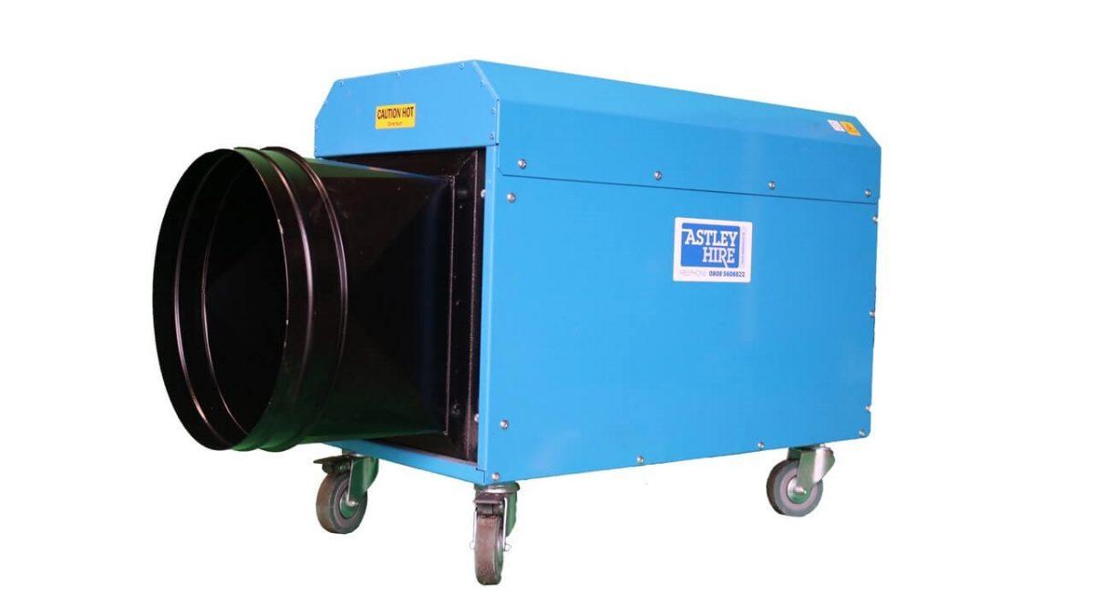 بخاری برقی بزرگ فن دار