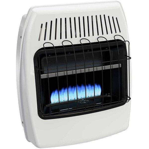 بخاری گازی بدون دودکش شعله آبی