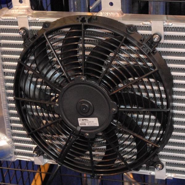 فن رادیاتور برقی