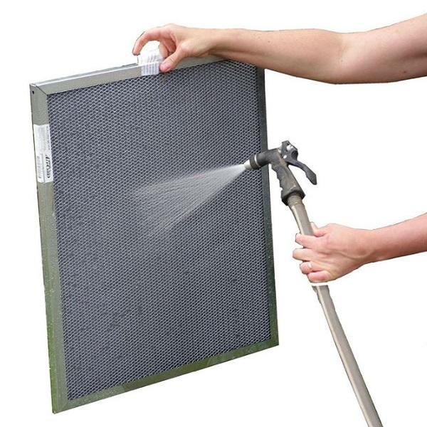 نظافت فیلتر هوای کوره