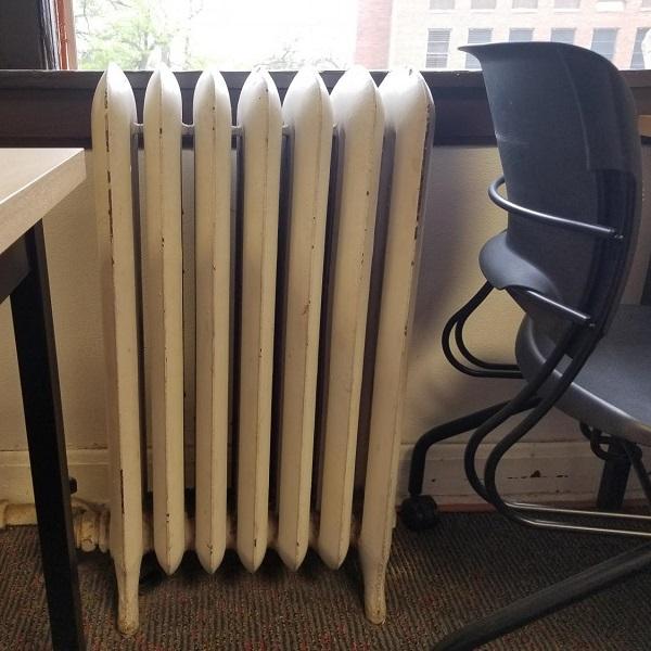 گرمایش مدرسه