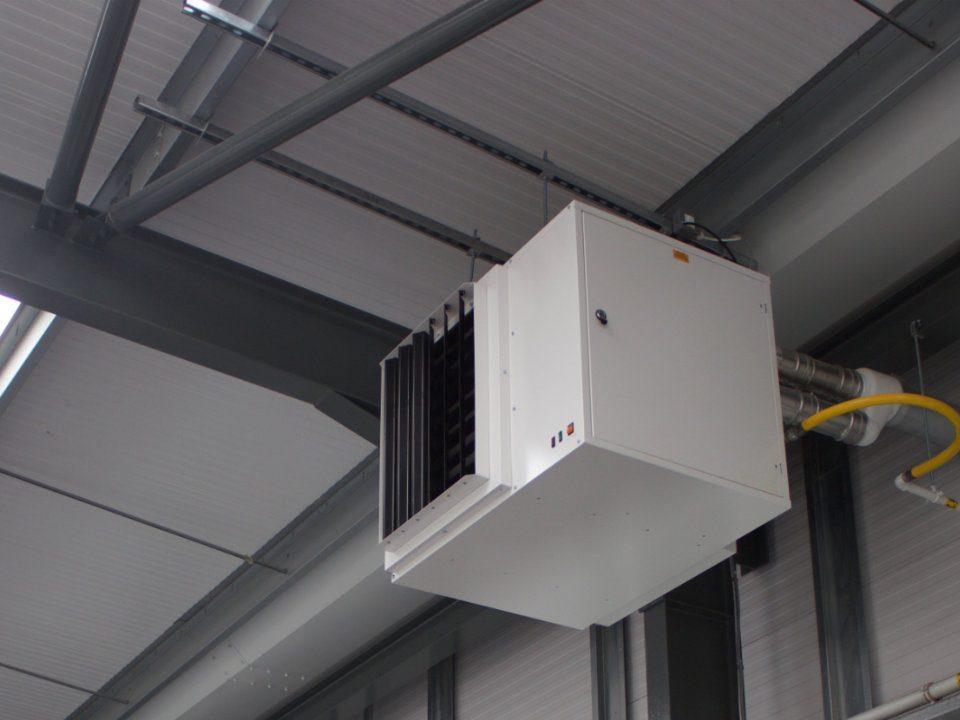 بهبود اثر گرمایشی هیتر تجاری