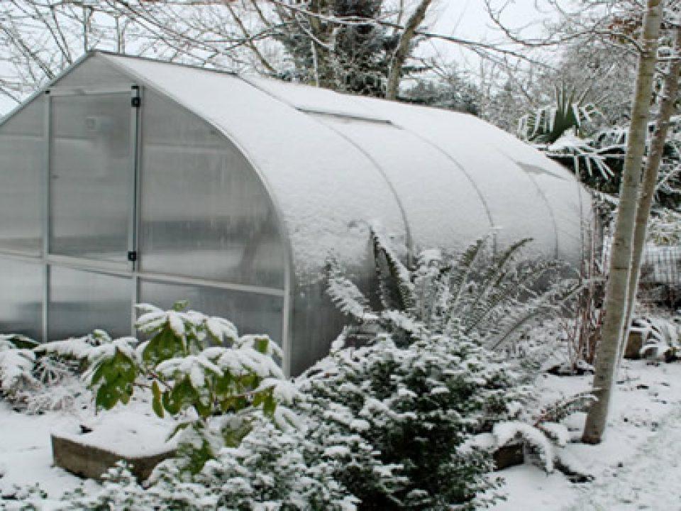 گرم کردن گلخانه