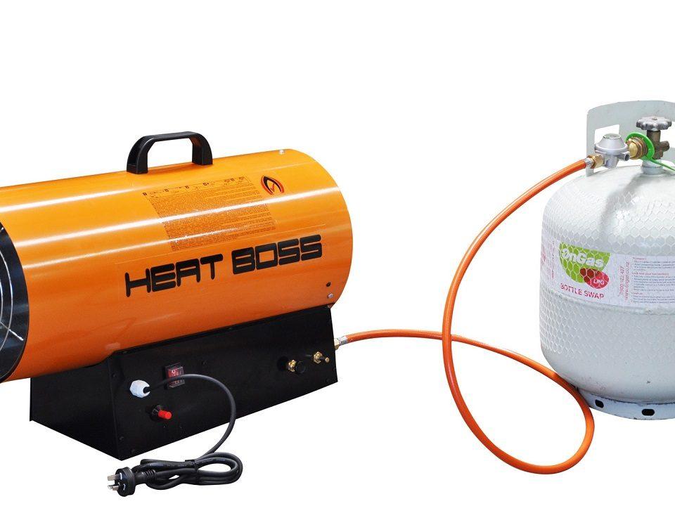 انواع بخاری با گاز مایع