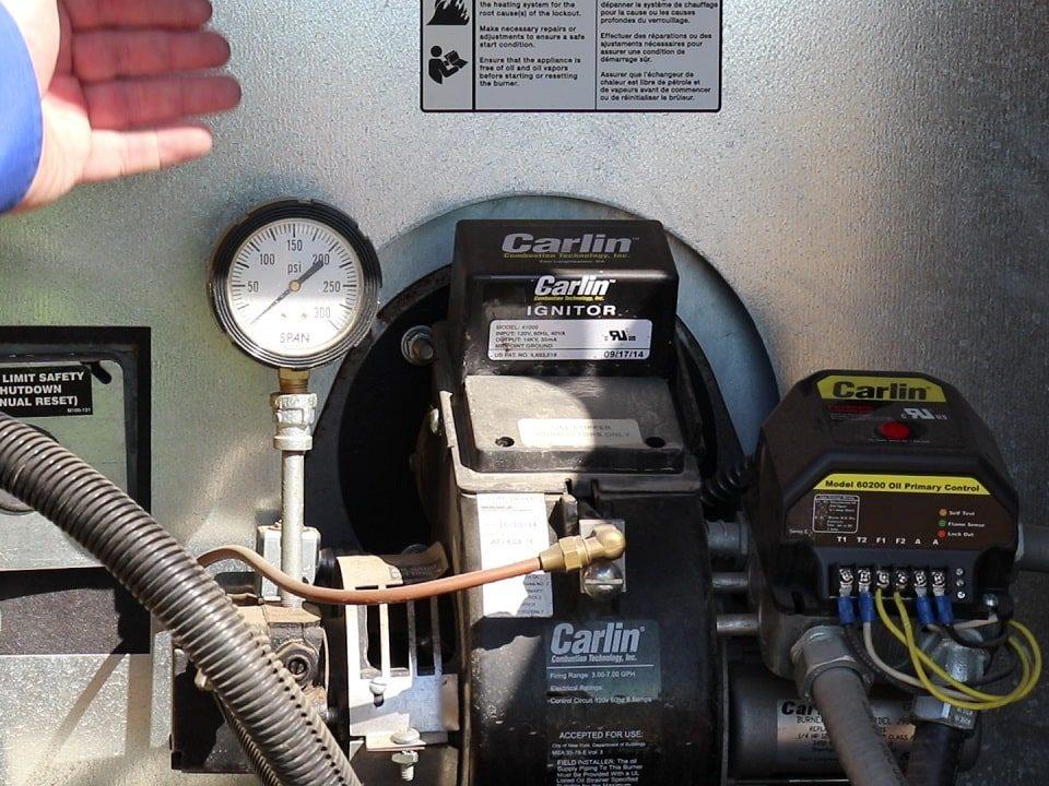 نگهداری سیستم گرمایشی صنعتی