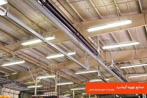گرماتاب ، هیتر تابشی ، هیتر سقفی ، قیمت گرماتاب، بهترین مارک گرماتاب ، هیتر تابشی